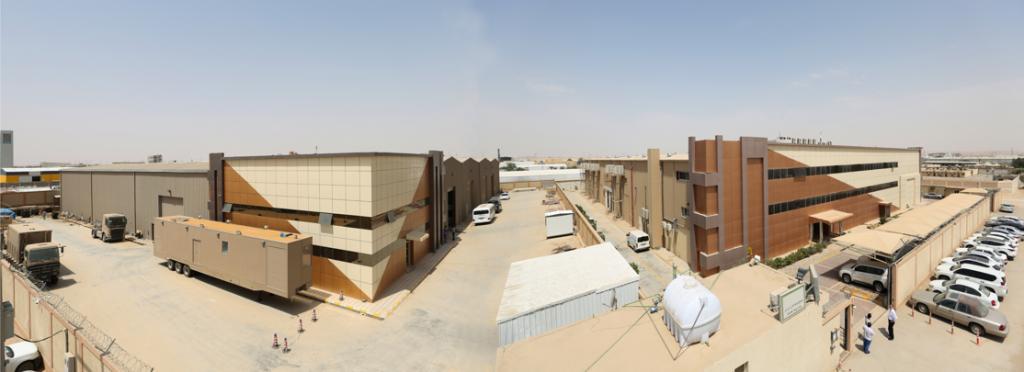 Al-Esnad Facility Panorama
