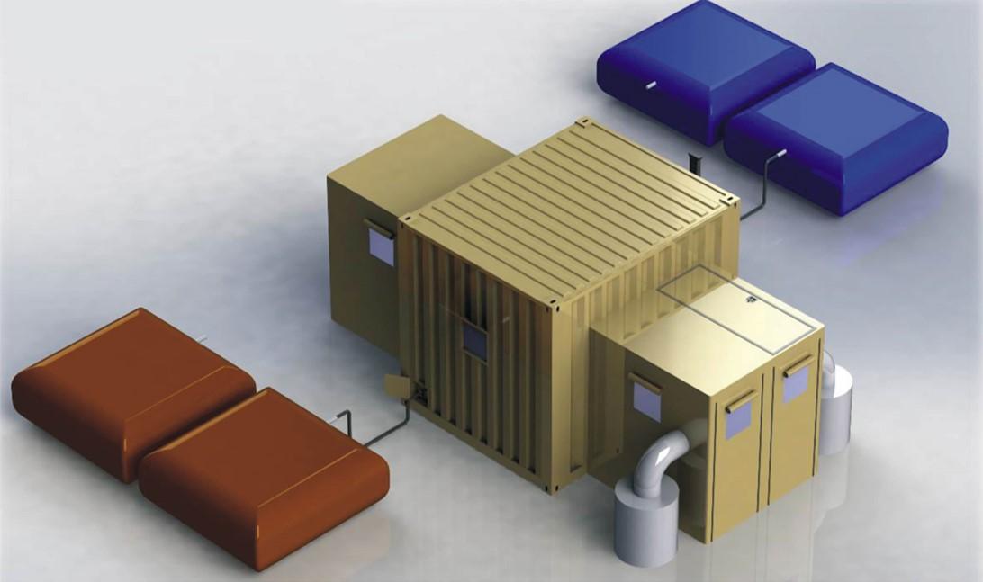 Mobile Decontamination Containers